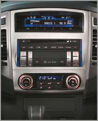 Multi Kommunikations- System mit Radio, CD Player, DVD Navigationssystem